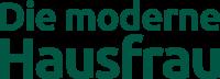 Die moderne Hausfrau Logo